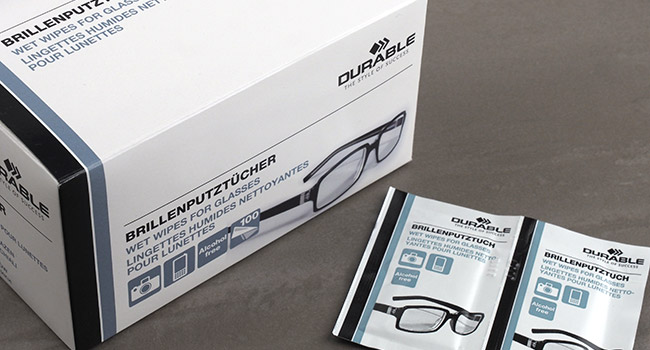 Wet Wipe for Glasses ウエットワイプ / DURABLE