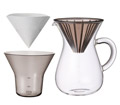 Slow Coffee Style�@Coffee carafe set �R�[�q�[�J���t�F�Z�b�g/ KINTO