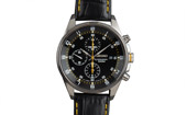 Chronograph Black Yellow 7T92 / SEIKO